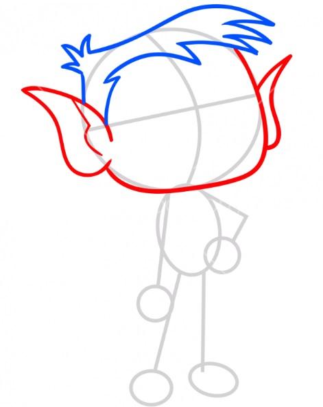 Как нарисовать Бист Боя 2