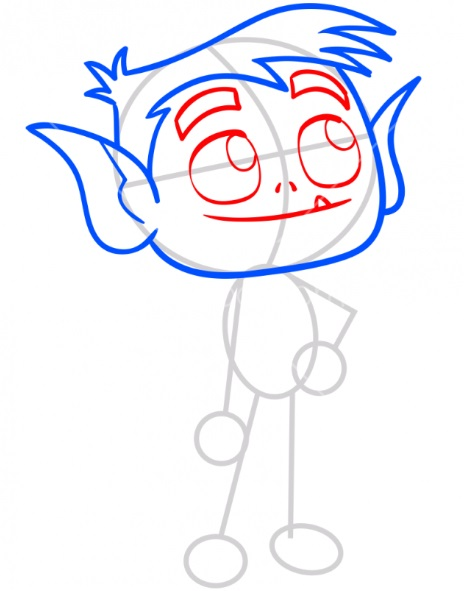 Как нарисовать Бист Боя 3
