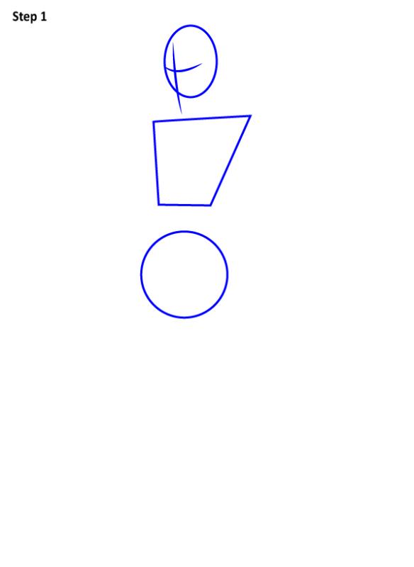 Как нарисовать скин Черного Рыцаря из Фортнайт 1