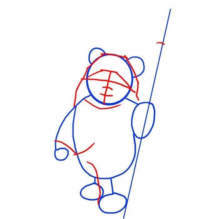 Как нарисовать эвока 2