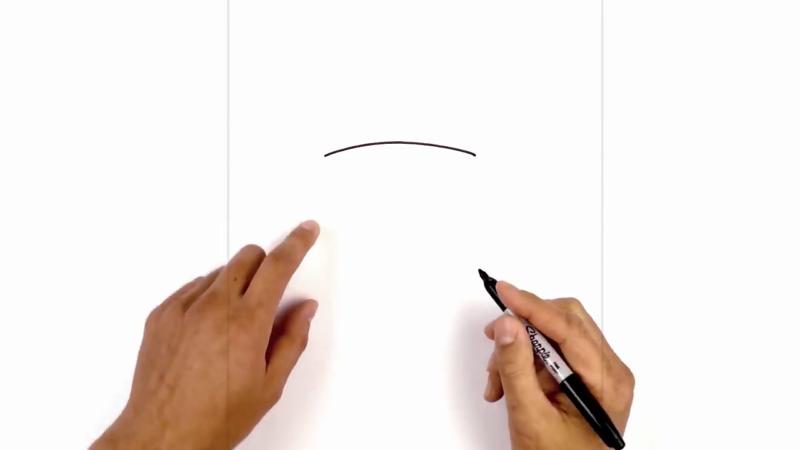 Как нарисовать стена ли 1