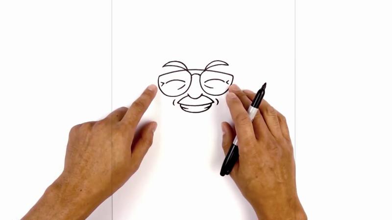 Как нарисовать стена ли 5