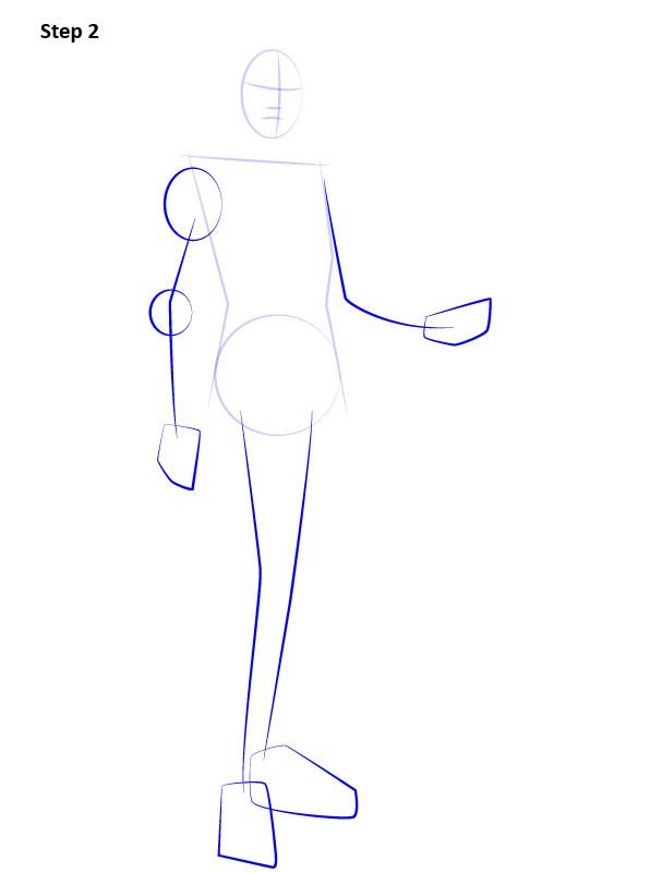 Как нарисовать Лиару 2
