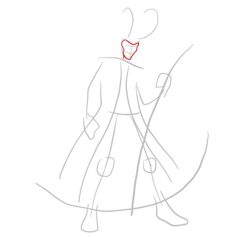 Как нарисовать Локи 2