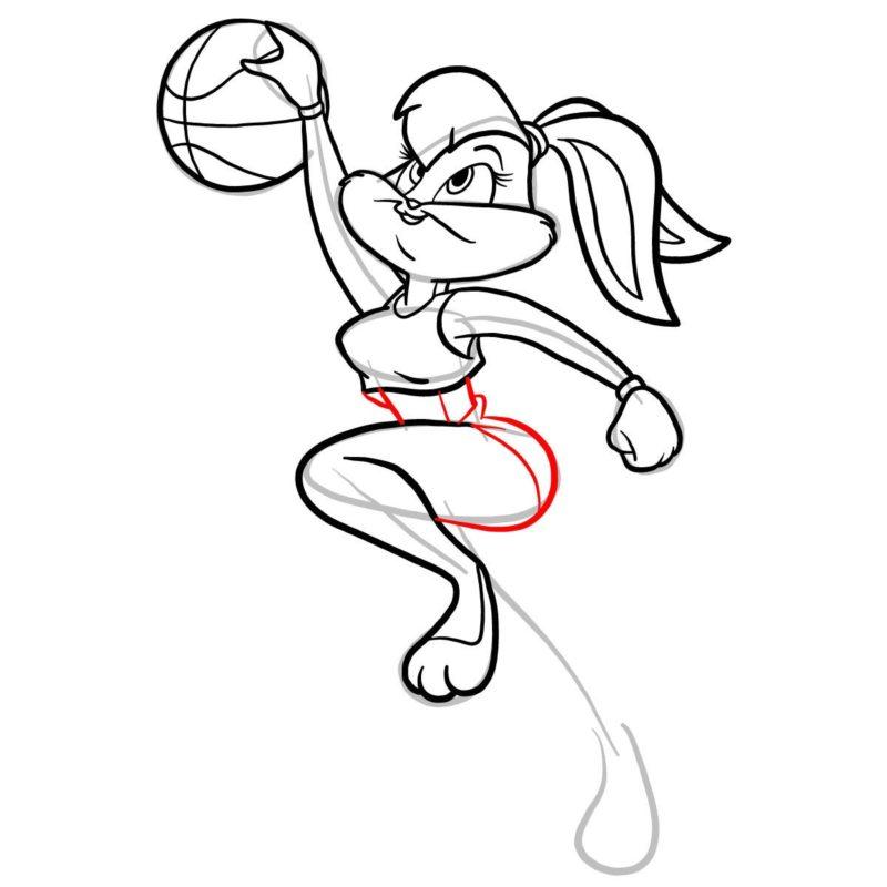 Как нарисовать Лолу Банни 10