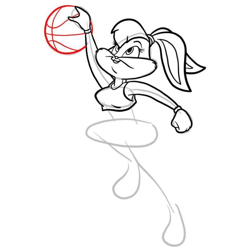 Как нарисовать Лолу Банни 8