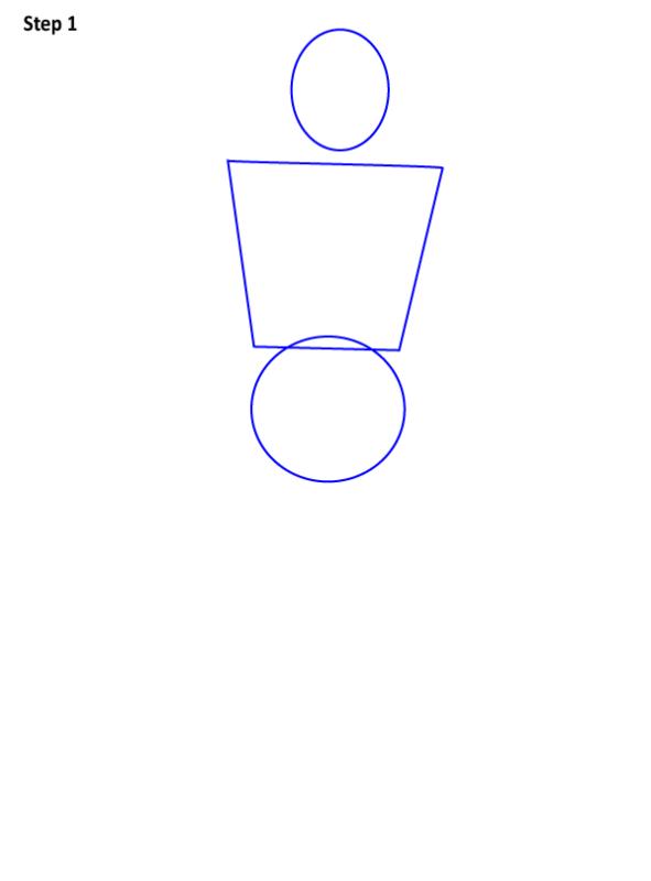 Как нарисовать Красного колпака 1
