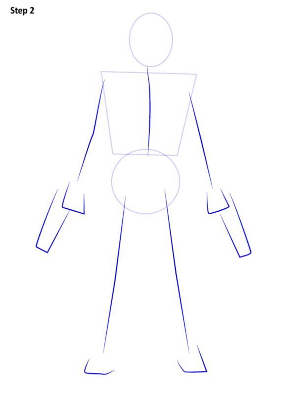 Как нарисовать Красного колпака 2