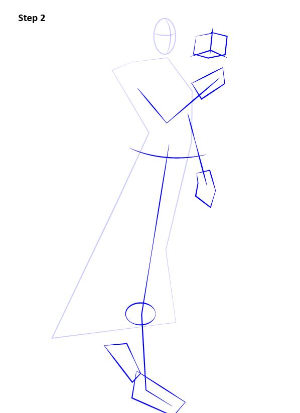 Как нарисовать Сатель Шан 2