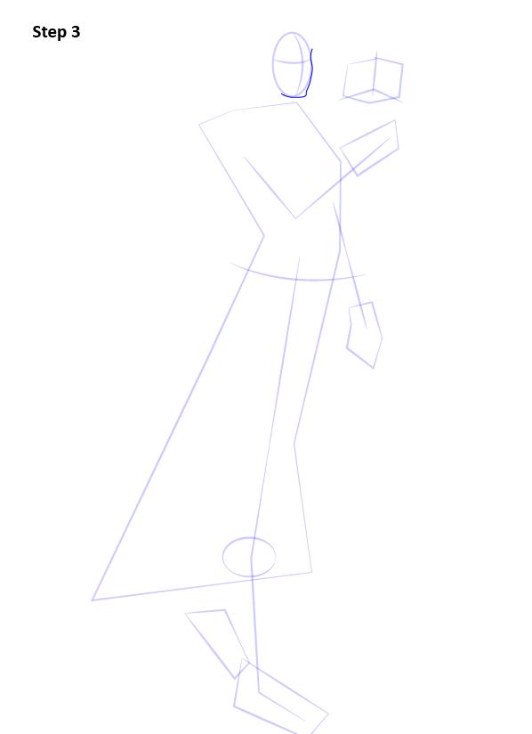 Как нарисовать Сатель Шан 3