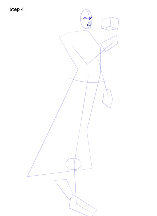 Как нарисовать Сатель Шан 4