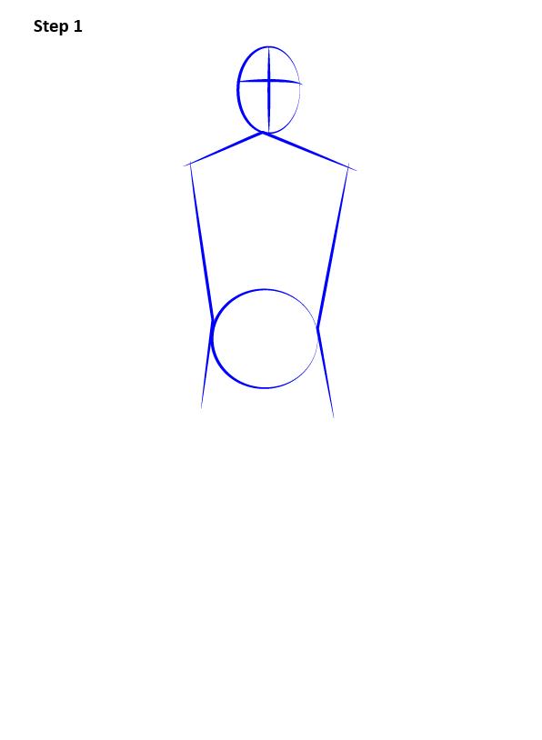 Рисуем Человека Паука нуар1