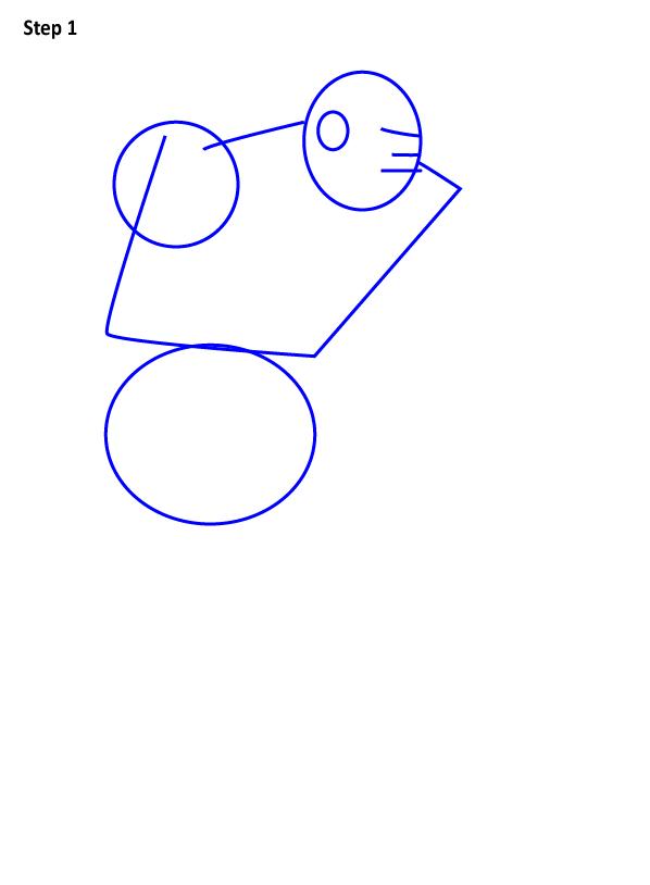 Как нарисовать Зангиева 1