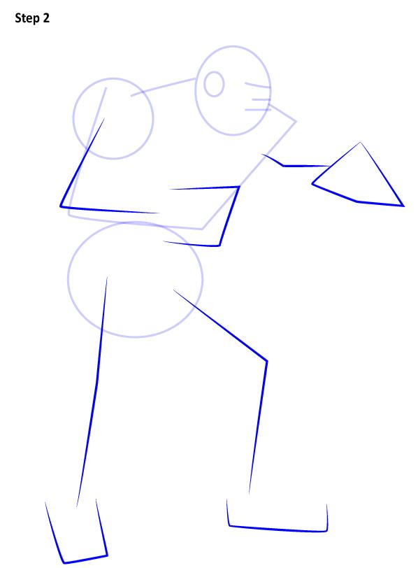 Как нарисовать Зангиева 2