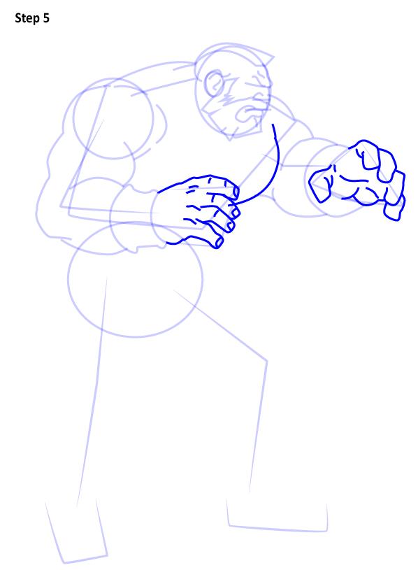 Как нарисовать Зангиева 5