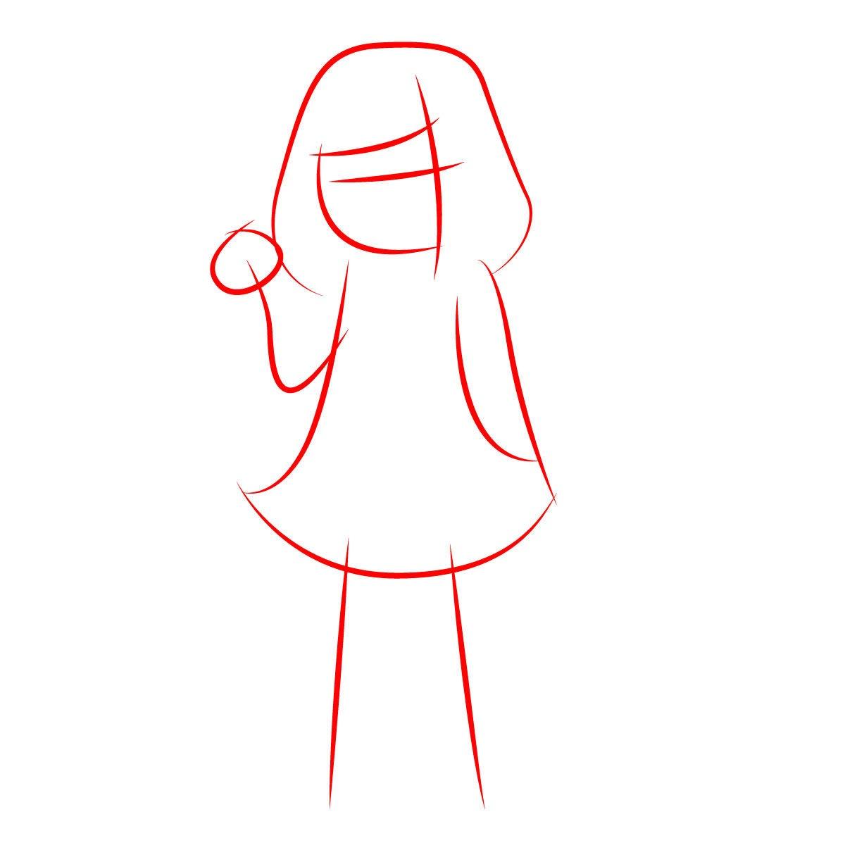 как нарисовать Бет Нуар 1