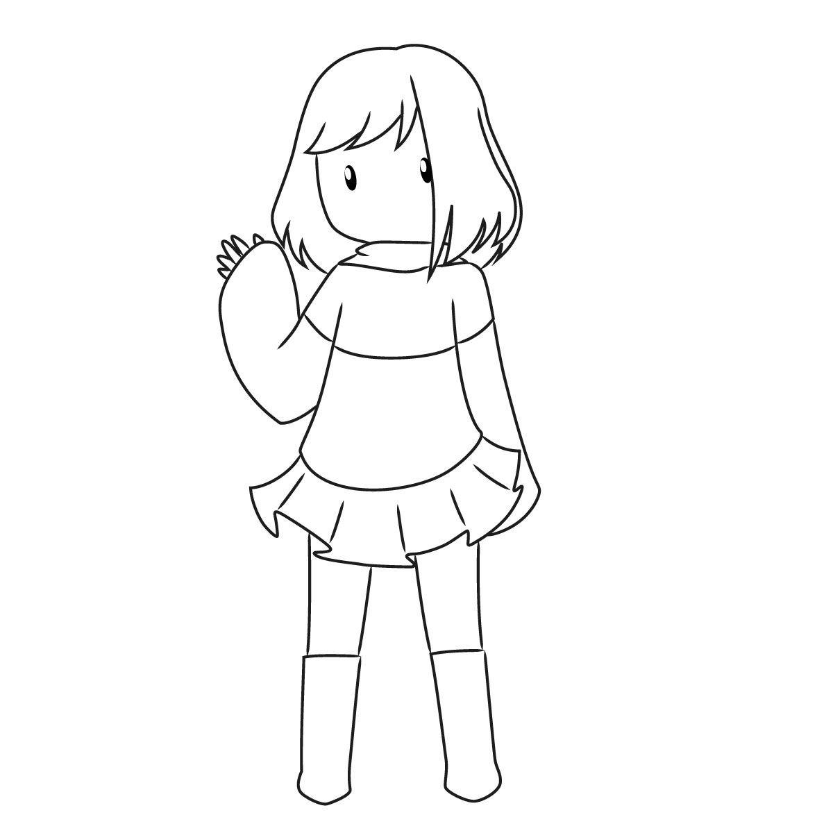 как нарисовать Бет Нуар 10