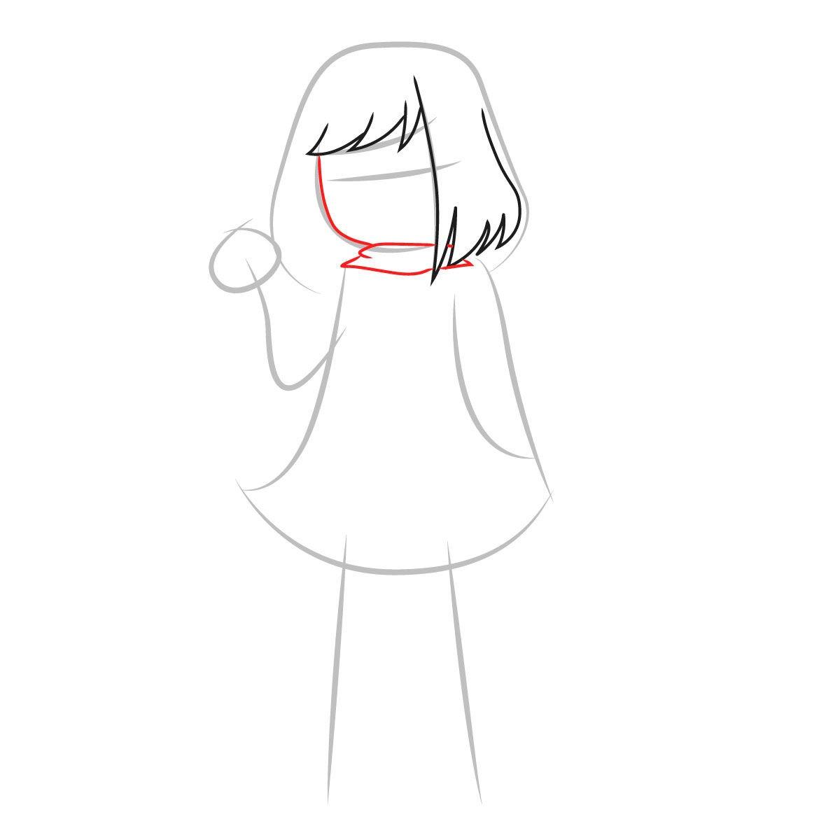 как нарисовать Бет Нуар 3