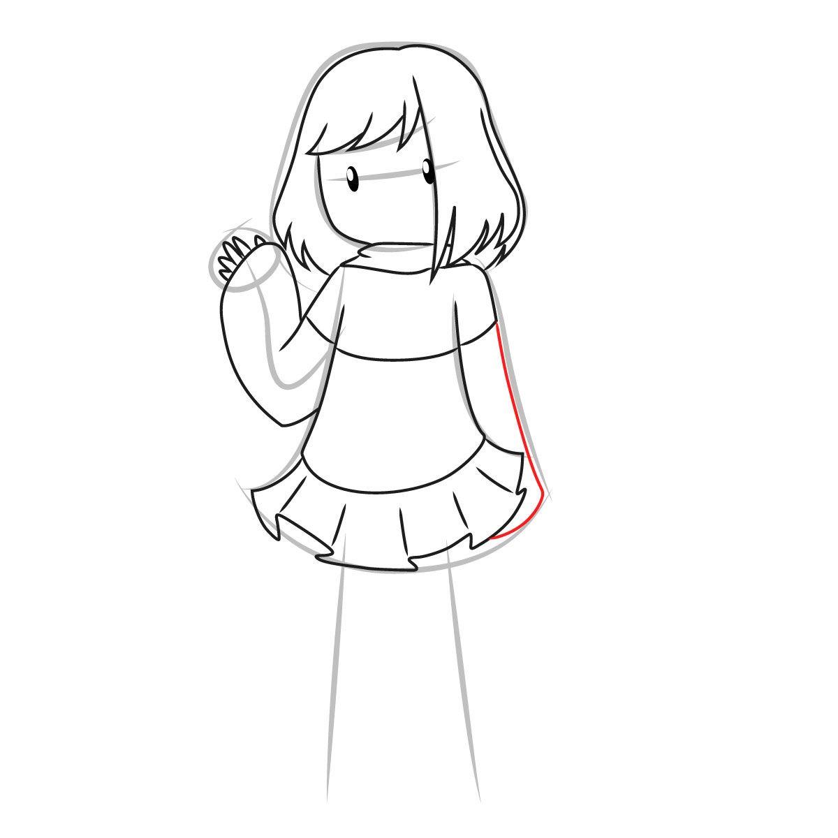 как нарисовать Бет Нуар 8