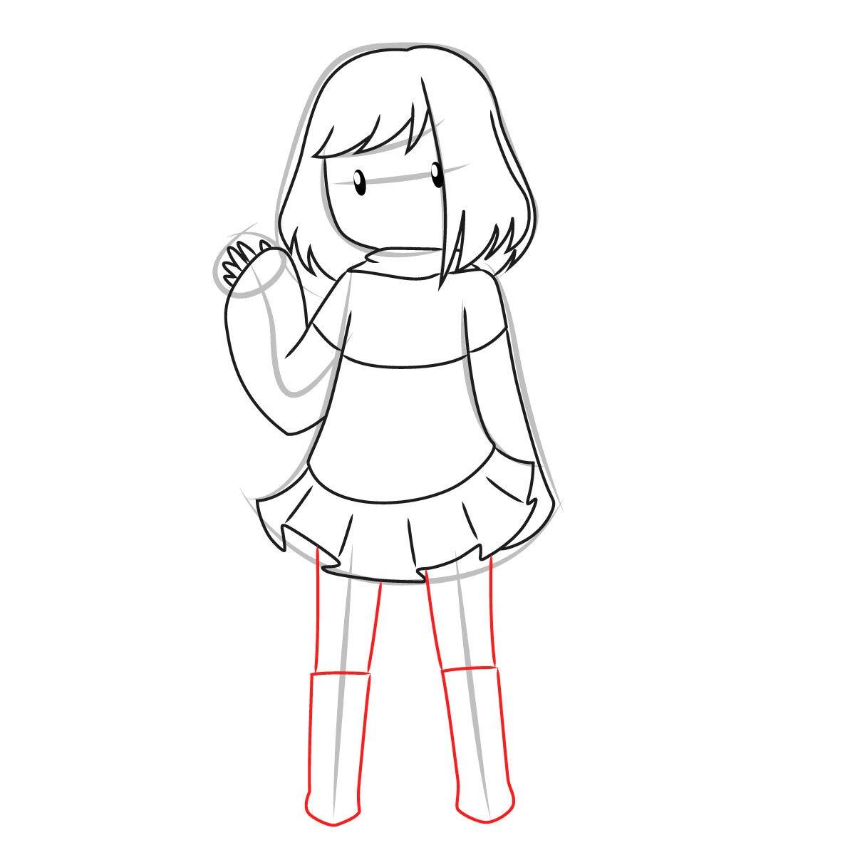 как нарисовать Бет Нуар 9