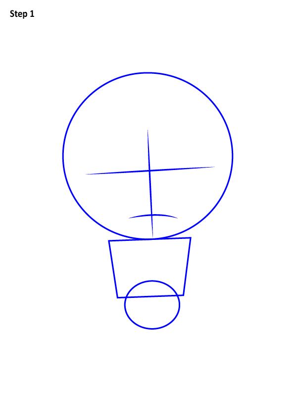 Как нарисовать Хэла Джордана 1
