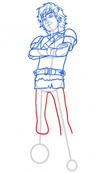 Как нарисовать Иккинга 10