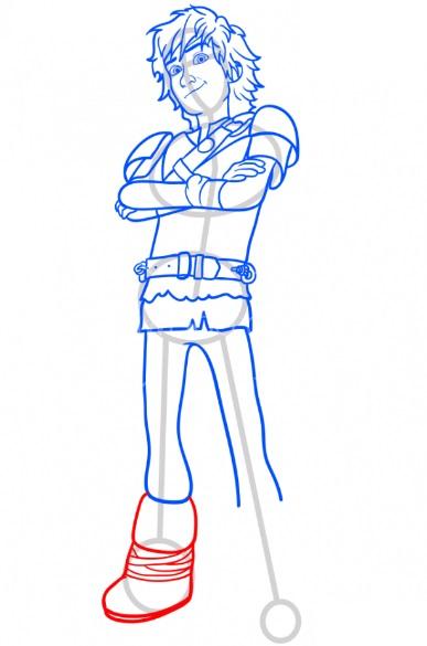 Как нарисовать Иккинга 11