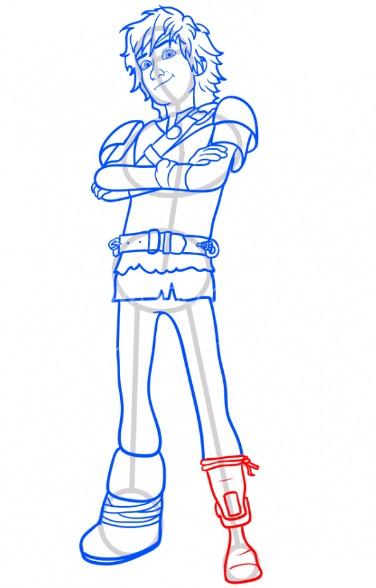 Как нарисовать Иккинга 12