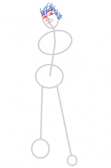 Как нарисовать Иккинга 3