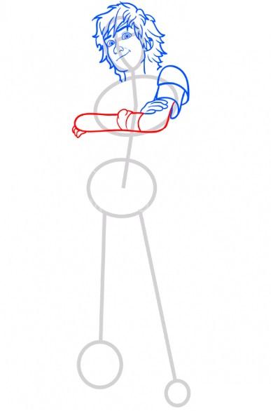 Как нарисовать Иккинга 6