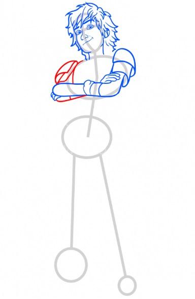 Как нарисовать Иккинга 7