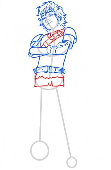 Как нарисовать Иккинга 9