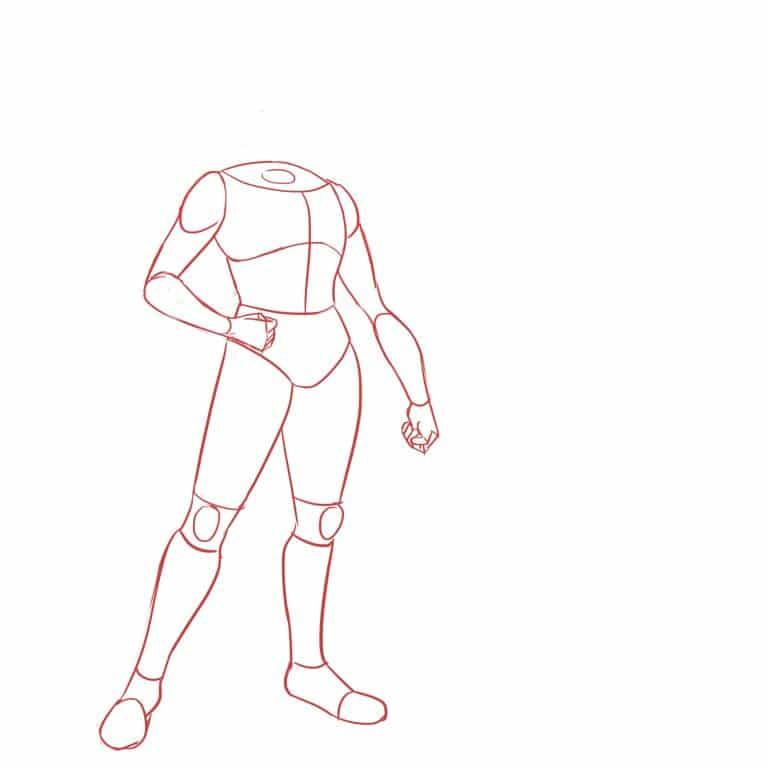 как нарисовать LINK FROM ZELDA 3