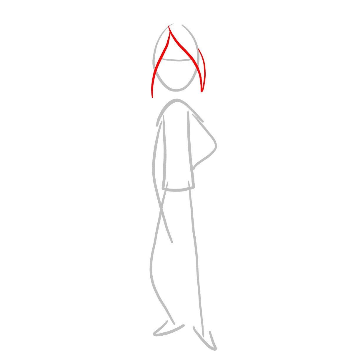 как нарисовать Марселин 2