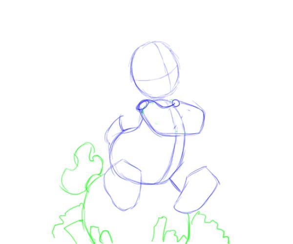 Как нарисовать Скруджа Макдака 2