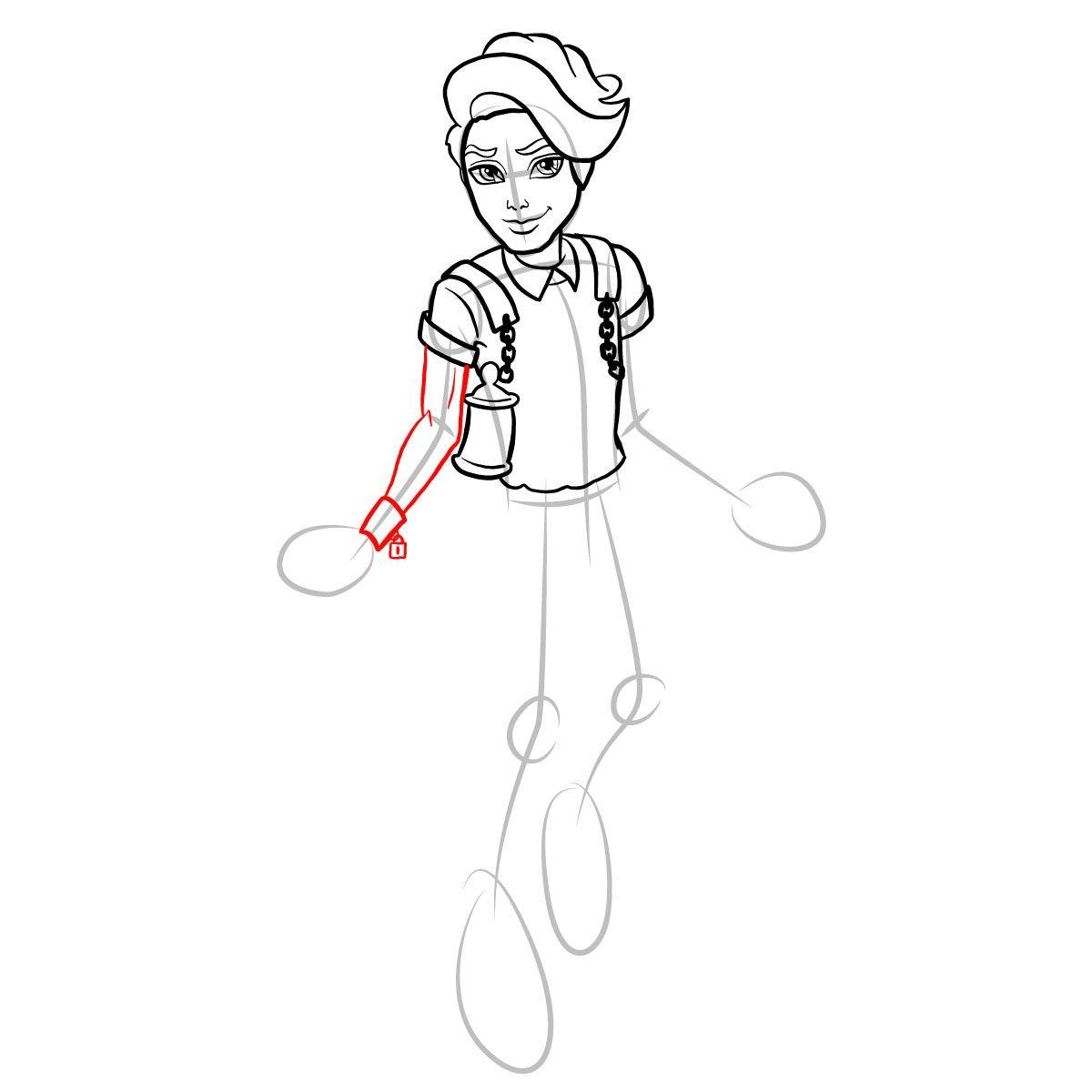 Как нарисовать Портера Гейсса 10