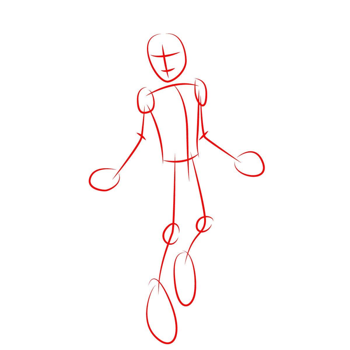 Как нарисовать Портера Гейсса 2