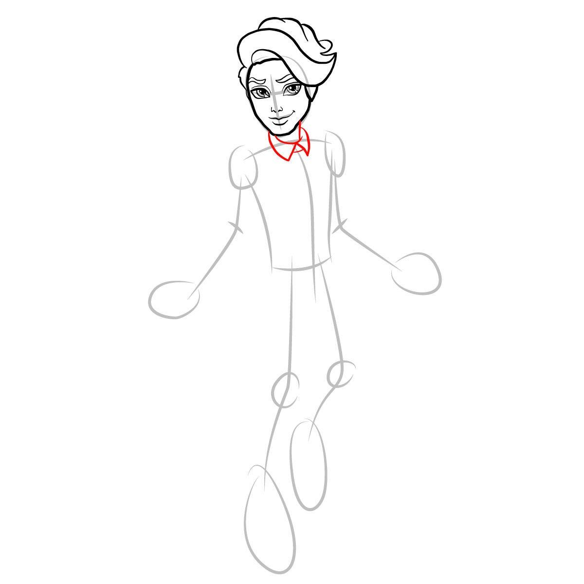Как нарисовать Портера Гейсса 6