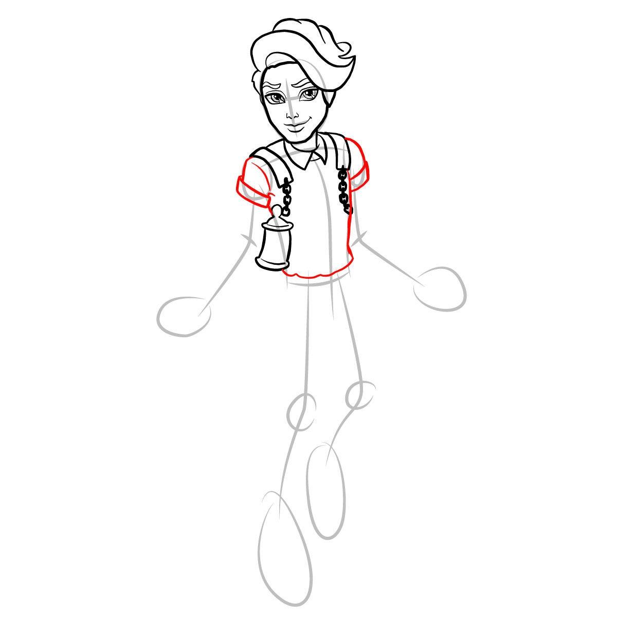 Как нарисовать Портера Гейсса 9