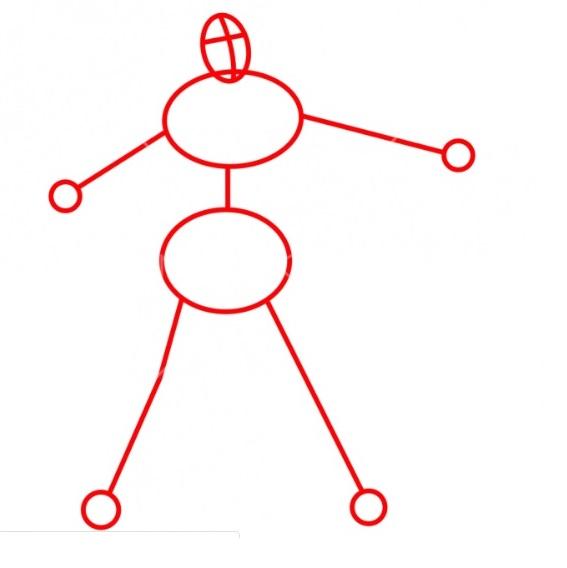 Как нарисовать Роналду 1