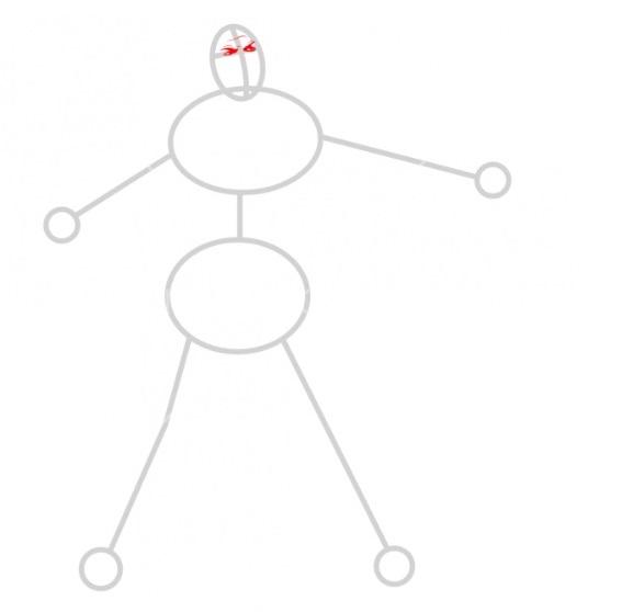 Как нарисовать Роналду 2