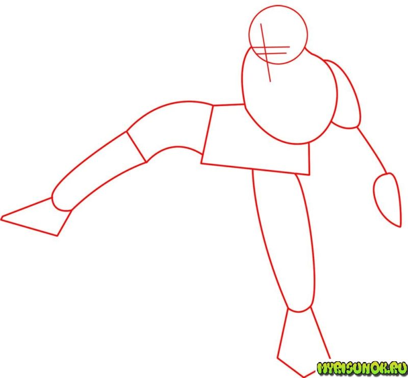 Как нарисовать Люка Скайуокера 16