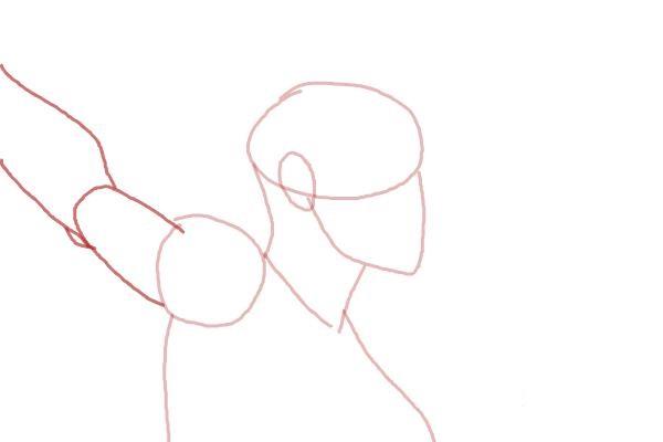Как нарисовать Шторм из Людей Икс 4