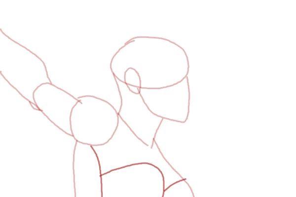 Как нарисовать Шторм из Людей Икс 5
