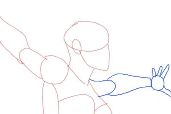 Как нарисовать Шторм из Людей Икс 6