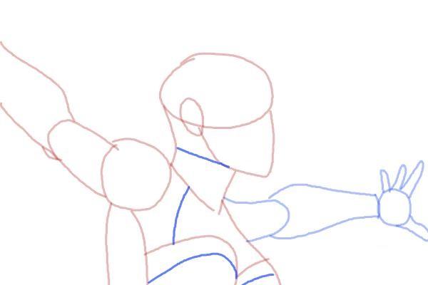 Как нарисовать Шторм из Людей Икс 7