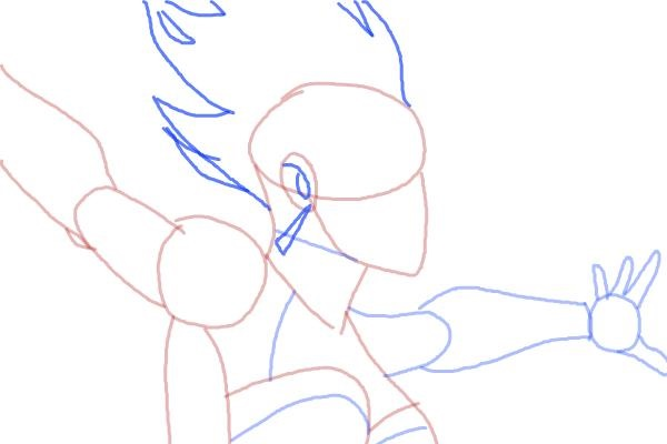 Как нарисовать Шторм из Людей Икс 8