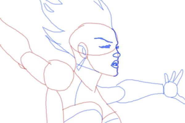 Как нарисовать Шторм из Людей Икс 9