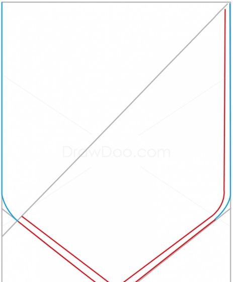 как нарисовать эмблему атлетико мадрид 3