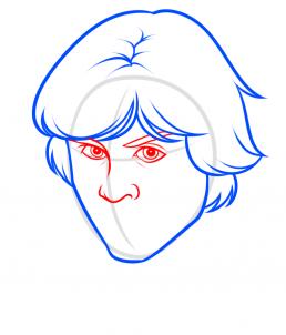 Как нарисовать Люка Скайуокера 20